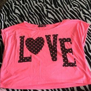 Pink Lipstick Shirt